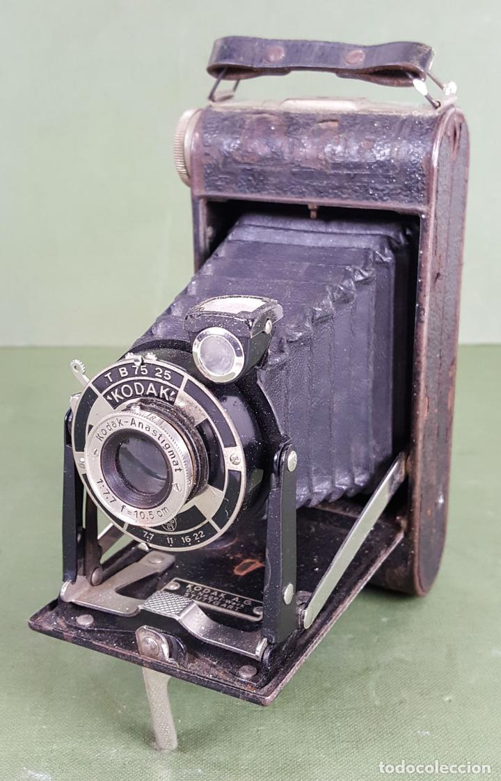CÁMARA FOTOGRÁFICA DE FUELLE KODAK. STUTTGART. ALEMANIA. CIRCA 1915. (Cámaras Fotográficas - Antiguas (hasta 1950))