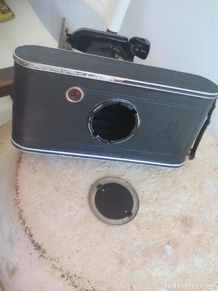 Cámara de fotos: CÁMARA ANTIGUA DE FUELLE, ZEISS IKON COCARETTE. DERVAL. FRONTER 1:9 F=12 - Foto 8 - 128010983