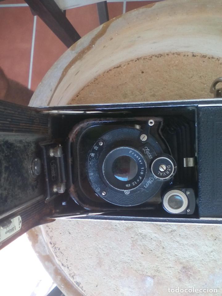 Cámara de fotos: CÁMARA ANTIGUA DE FUELLE, ZEISS IKON COCARETTE. DERVAL. FRONTER 1:9 F=12 - Foto 10 - 128010983