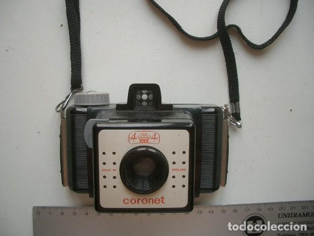BAQUELITA.127 FILM...CORONET 4X4. (Cámaras Fotográficas - Antiguas (hasta 1950))