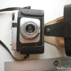 Cámara de fotos: CÁMARA DE FORMATO MEDIO..CERTO PHOTFUNDA ALEMANIA 1958 FUNDA ORIGINAL. Lote 128760399