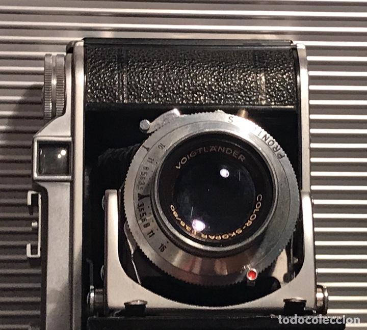 Cámara de fotos: Cámara Voigtlander Perkeo II. De Fuelle. 6x6. - Foto 16 - 130576299