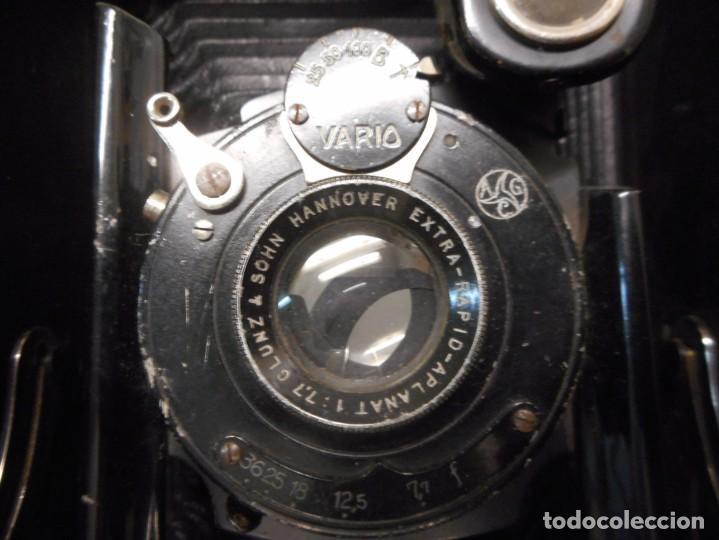 Cámara de fotos: antigua camara de fotos de fuelle vario con portafotografias - Foto 8 - 130602830