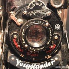 Cámara de fotos: CÁMARA VOIGTLANDER BESSA. FUELLE. 1931/1949. ALEMANIA. Lote 131073709
