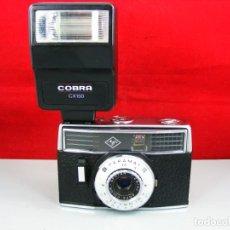 Cámara de fotos: CAMARA AGFA MODELO PARAMAT CON FLASH INCLUIDO. Lote 131459374