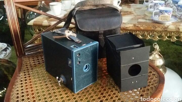 Cámara de fotos: Kodak brownie N ° 2A modelo C - Foto 4 - 131751303