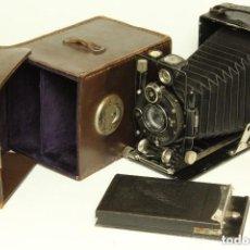 Cámara de fotos: CÁMARA DE FUELLE VOIGTLANDER AVUS 6X9. ALEMANIA 1927.PERFECTO ESTADO. Lote 132069610