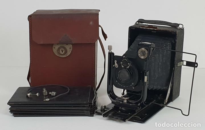 CAMARA FOTOGRÁFICA RODENSTOCK. TRINAR. ANASTIGMAT. VARIO. CIRCA 1930. (Cámaras Fotográficas - Antiguas (hasta 1950))