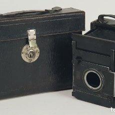 Cámara de fotos: CAMARA FOTOGRÁFICA DE FUELLE. G.P. GOERZ ANGO. BERLIN. ALEMANIA. CIRCA 1900.. Lote 132457670