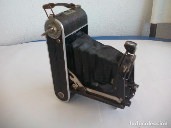 Cámara de fotos: Antigua cámara fotográfica Rodenstock trinar anastigmat. 1:49 f 10 cm. nº464863. pronto d,r,p. origi - Foto 2 - 132778602