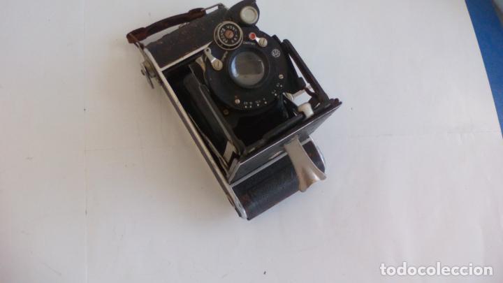Cámara de fotos: Antigua cámara fotográfica Rodenstock trinar anastigmat. 1:49 f 10 cm. nº464863. pronto d,r,p. origi - Foto 5 - 132778602