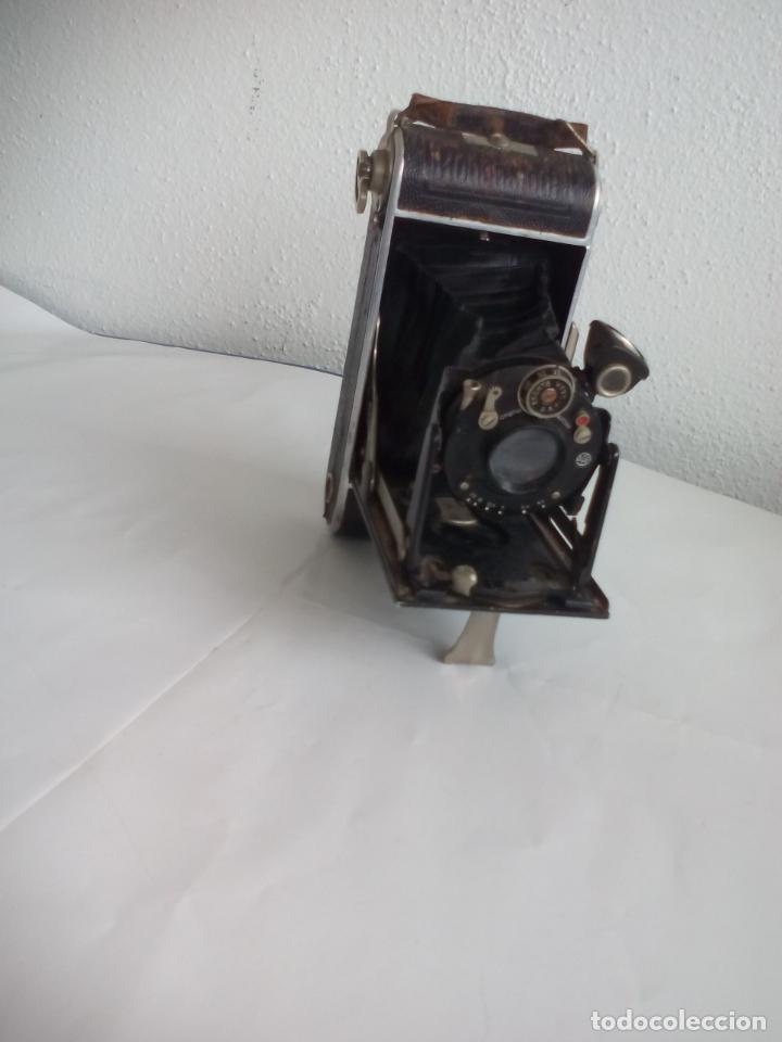 Cámara de fotos: Antigua cámara fotográfica Rodenstock trinar anastigmat. 1:49 f 10 cm. nº464863. pronto d,r,p. origi - Foto 6 - 132778602