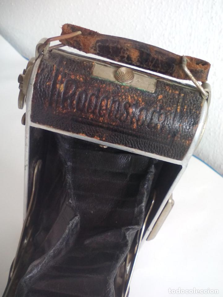 Cámara de fotos: Antigua cámara fotográfica Rodenstock trinar anastigmat. 1:49 f 10 cm. nº464863. pronto d,r,p. origi - Foto 8 - 132778602