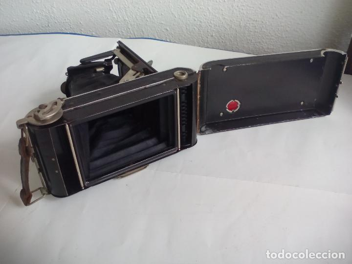 Cámara de fotos: Antigua cámara fotográfica Rodenstock trinar anastigmat. 1:49 f 10 cm. nº464863. pronto d,r,p. origi - Foto 9 - 132778602