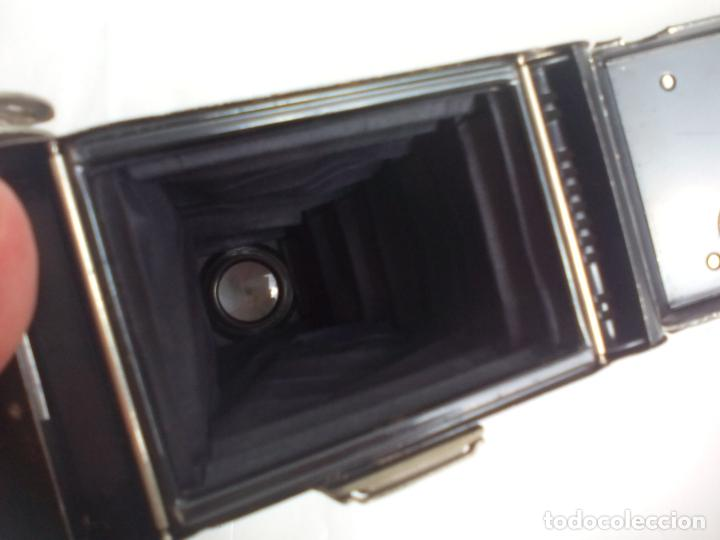 Cámara de fotos: Antigua cámara fotográfica Rodenstock trinar anastigmat. 1:49 f 10 cm. nº464863. pronto d,r,p. origi - Foto 10 - 132778602