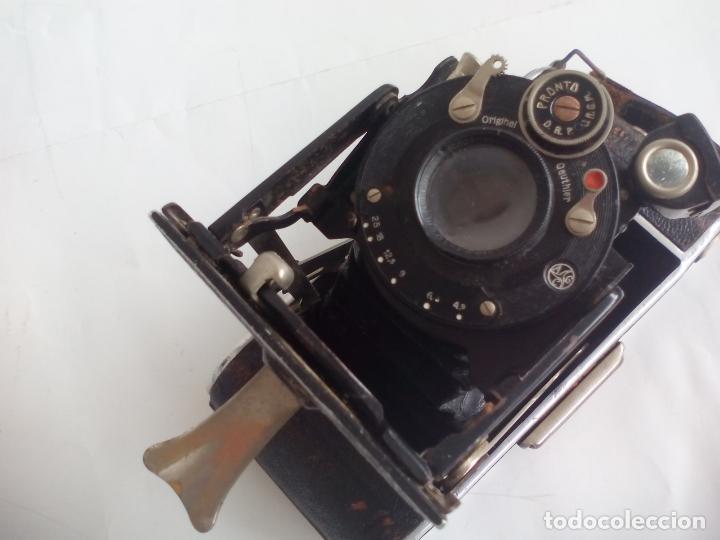 Cámara de fotos: Antigua cámara fotográfica Rodenstock trinar anastigmat. 1:49 f 10 cm. nº464863. pronto d,r,p. origi - Foto 11 - 132778602