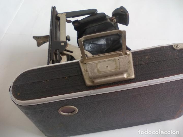 Cámara de fotos: Antigua cámara fotográfica Rodenstock trinar anastigmat. 1:49 f 10 cm. nº464863. pronto d,r,p. origi - Foto 15 - 132778602