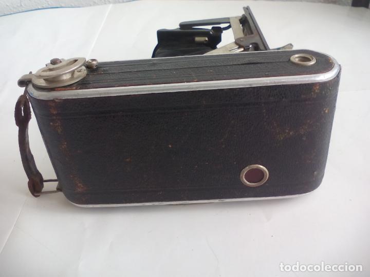 Cámara de fotos: Antigua cámara fotográfica Rodenstock trinar anastigmat. 1:49 f 10 cm. nº464863. pronto d,r,p. origi - Foto 16 - 132778602