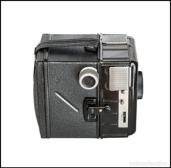 Cámara de fotos: CORONET.THE OUTSPAN CAMERA. FABRICACION INGLESA DE 1955. MUY BUEN ESTADO. - Foto 3 - 134904238