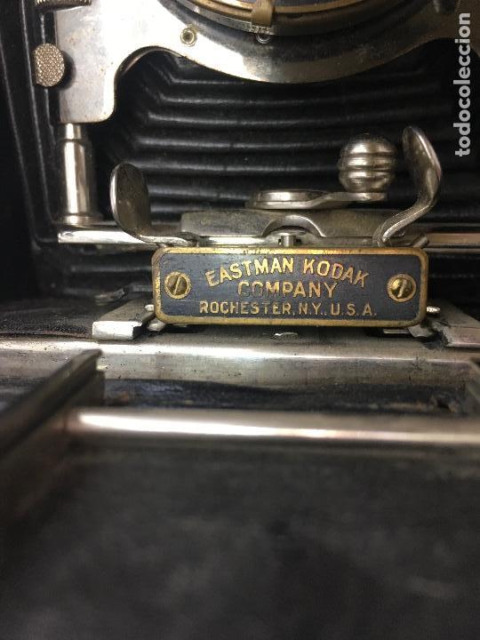 Cámara de fotos: MAQUINA FOTOGRAFICA DE FUELLE EASTMAN KODAK CO. PATD. JAN. 18 1910 - Foto 10 - 134944946