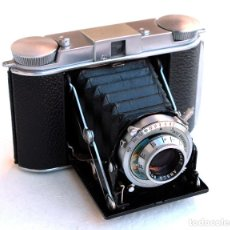 Cámara de fotos: MUY RARA ANSCO TITAN CLASSIC 1.949 'LUXURY FOLDER' (F4.5) • FORMATO MEDIO 6X6 AMERICANA. Lote 135277150