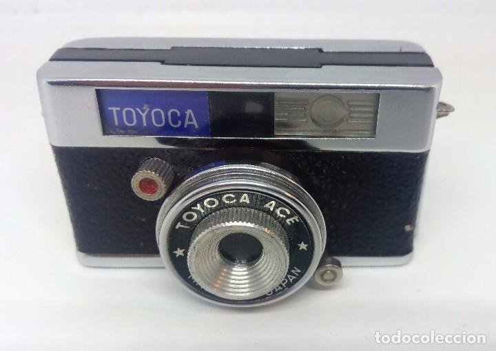 TOYOCA, MINI CAMARA MADE IN JAPAN (Cámaras Fotográficas - Antiguas (hasta 1950))