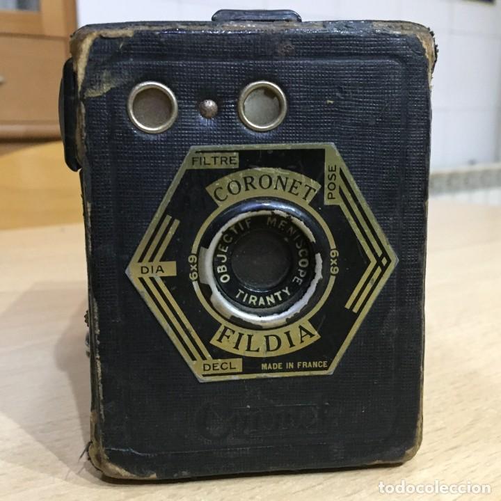 CORONET FILDIA (Cámaras Fotográficas - Antiguas (hasta 1950))