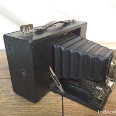 Cámara de fotos: KODAK FOLDING BROWNIE N°3 MODELO D DE 1910. Lote 137576830