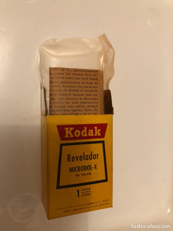 Cámara de fotos: REVELADOR KODAK. CAJA DE KODAK MICRODOL-X - Foto 2 - 138915777