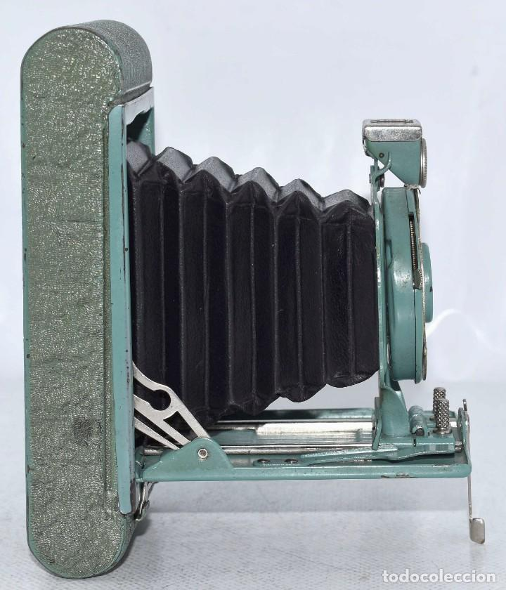 Cámara de fotos: PEQUEÑA JOYA EN COLOR VERDE..USA 1930..KODAK VEST POCKET RAINBOW HAWKEYE..MUY BUEN ESTADO..FUNCIONA - Foto 17 - 139083158