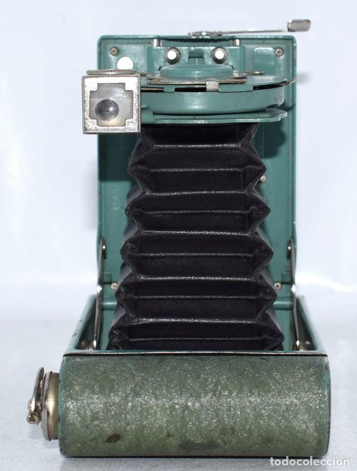 Cámara de fotos: PEQUEÑA JOYA EN COLOR VERDE..USA 1930..KODAK VEST POCKET RAINBOW HAWKEYE..MUY BUEN ESTADO..FUNCIONA - Foto 20 - 139083158