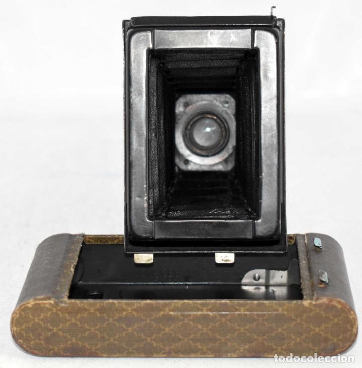 Cámara de fotos: UNICA...KODAK PETITE AZUL..USA 1929..+STYLUS.. PEQUEÑA MARAVILLA..MUY BUEN ESTADO..FUNCIONA..OCASION - Foto 24 - 139092666