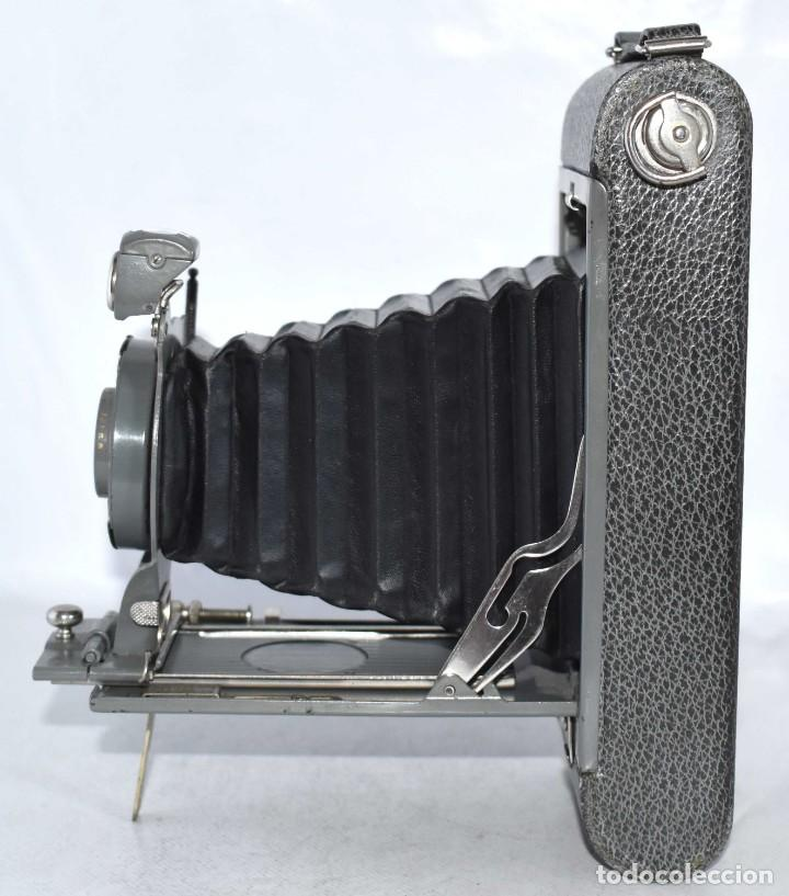 Cámara de fotos: ANTIGUEDAD, BELLEZA Y COLOR..21 CM..KODAK 1A POCKET, GRIS..USA 1926..MUY BUEN ESTADO..FUNCIONA - Foto 10 - 139103894
