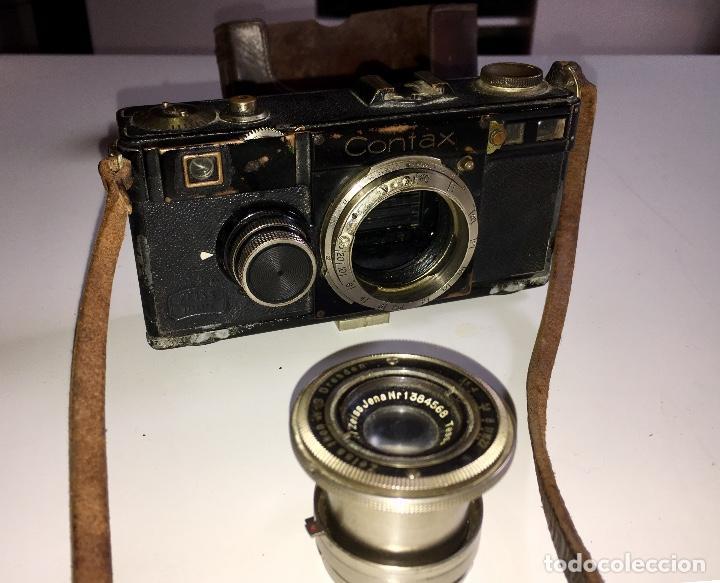 Cámara de fotos: Cámara de fotos antigua (1935) Contax I Zeis Ikon - Foto 2 - 139535498