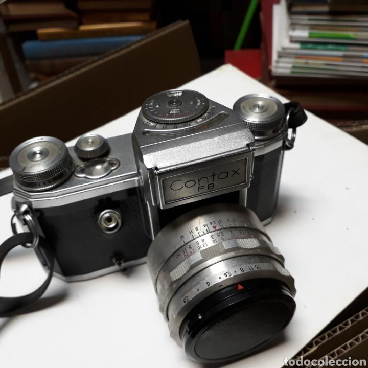 CAMARA DE FOTOS,CONTAX FB, GERMANY (Cámaras Fotográficas - Antiguas (hasta 1950))