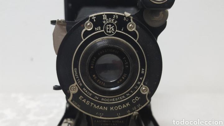 Cámara de fotos: CÁMARA KODAK POCKET N°1A ROCHESTER USA 1926 - Foto 2 - 141109348