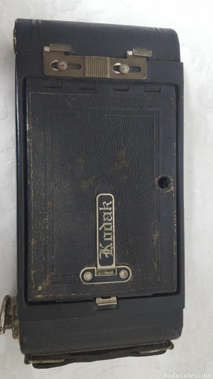 Cámara de fotos: CÁMARA KODAK POCKET N°1A ROCHESTER USA 1926 - Foto 4 - 141109348