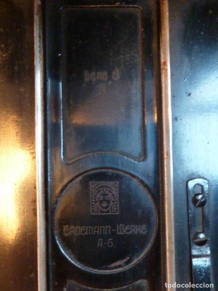 Cámara de fotos: CÁMARA ERNEMANN / WERKE - HEAG 0 A - F=14 CM - DRESDEN / ALEMANIA - DOPPEL OBJEKTIV - Foto 14 - 141824626