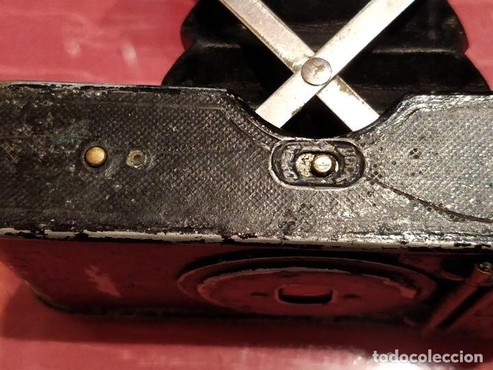 Cámara de fotos: Cámara de fuelle Easman Kodak 25 BT 50 de 1910 con funda de cuero marrón - Foto 10 - 141867838