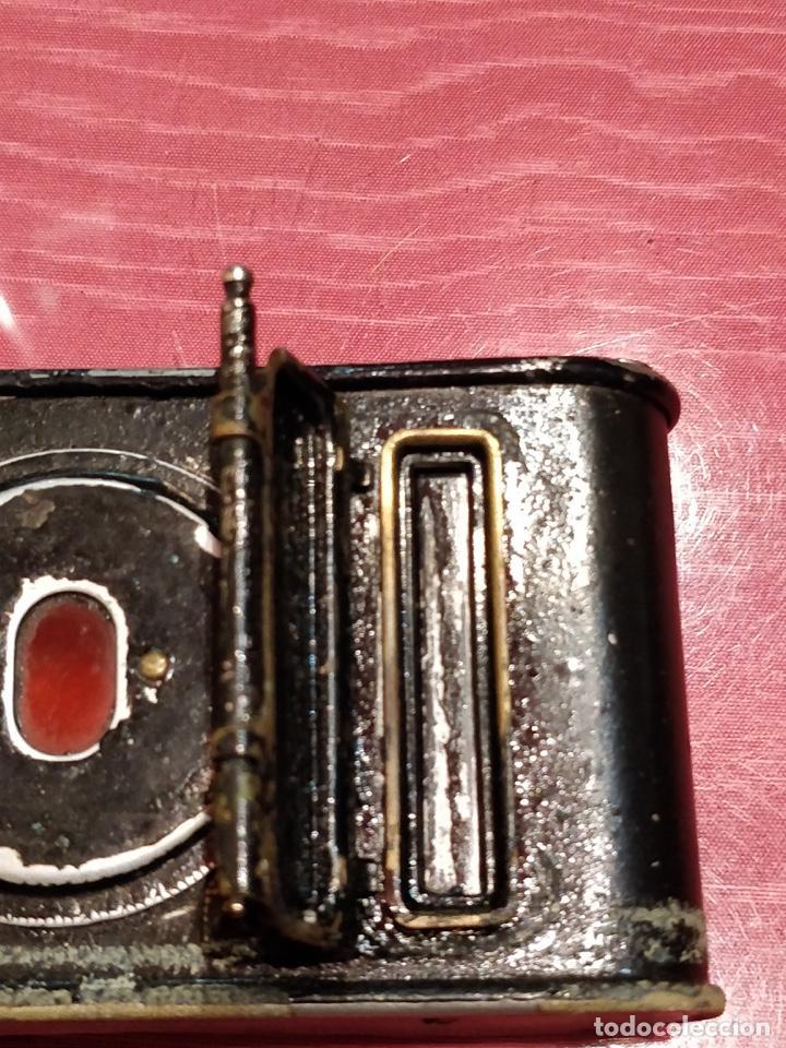 Cámara de fotos: Cámara de fuelle Easman Kodak 25 BT 50 de 1910 con funda de cuero marrón - Foto 12 - 141867838