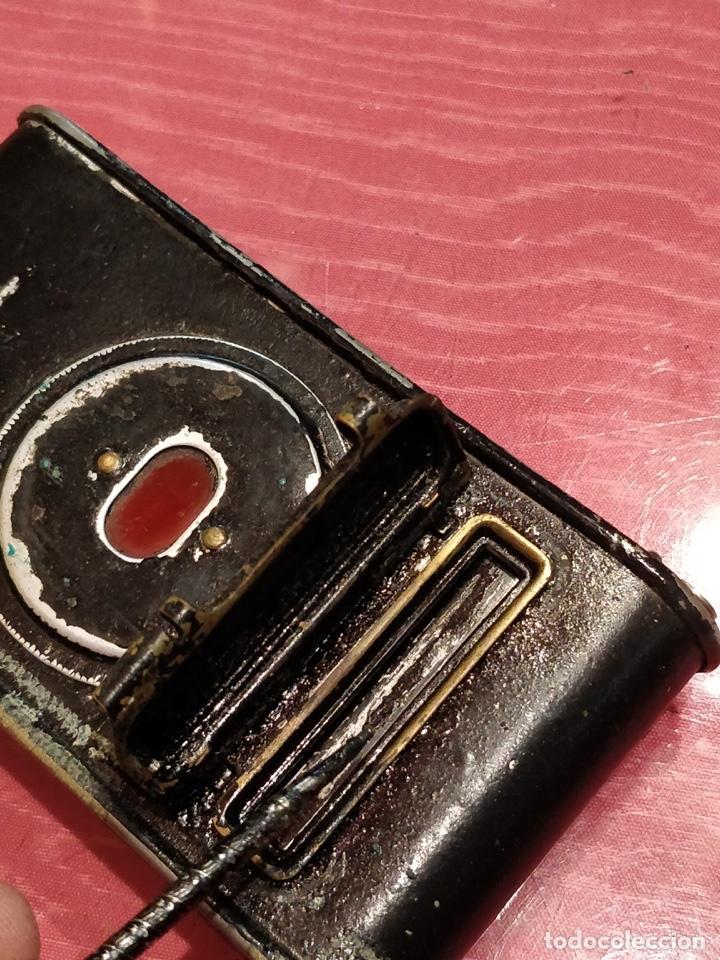 Cámara de fotos: Cámara de fuelle Easman Kodak 25 BT 50 de 1910 con funda de cuero marrón - Foto 13 - 141867838