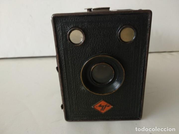 CAMARA AGFA BOX 54.AÑO 1930. (Cámaras Fotográficas - Antiguas (hasta 1950))