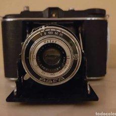 Cámara de fotos: CAMARA DE FOTOS VINTAGE AGFA ISOLETTE. Lote 142591590
