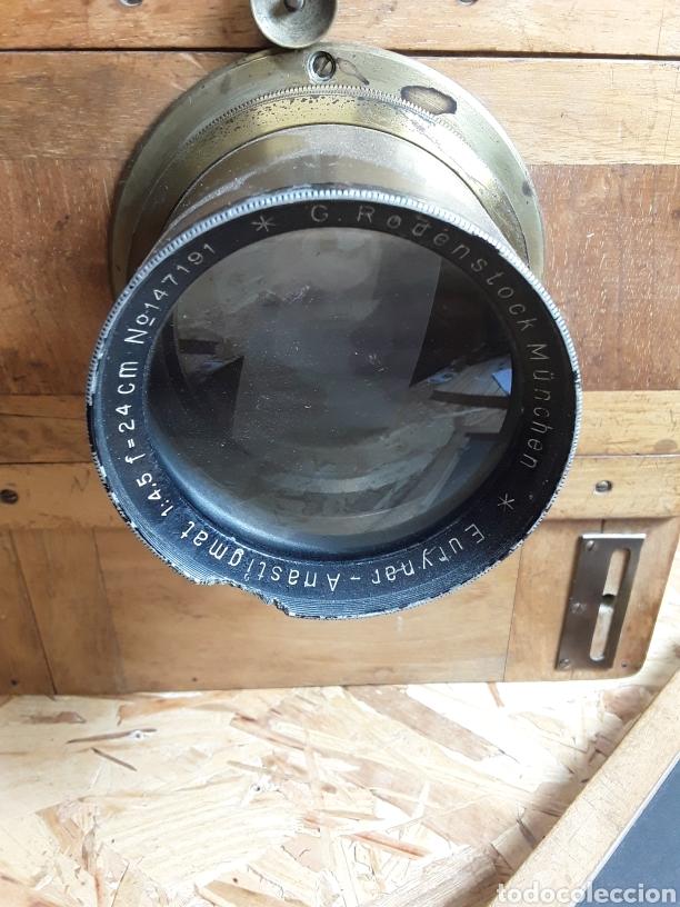 Cámara de fotos: Cámara de fuelle de madera año 1900 - Foto 2 - 142593928