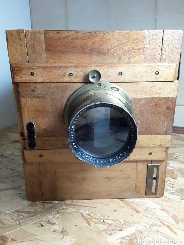 Cámara de fotos: Cámara de fuelle de madera año 1900 - Foto 4 - 142593928