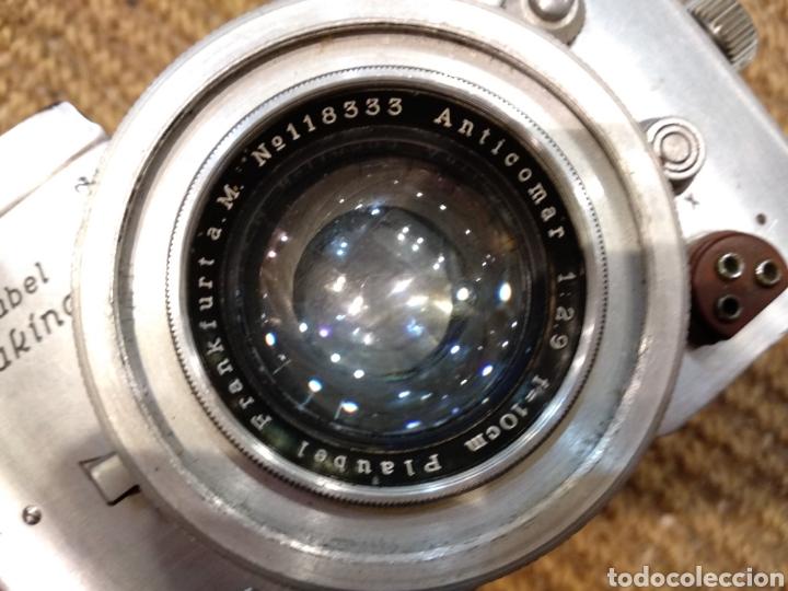 Cámara de fotos: ANTIGUA CÁMARA FOTOGRÁFICA PLAUBEL MAKINA - Foto 11 - 142700397