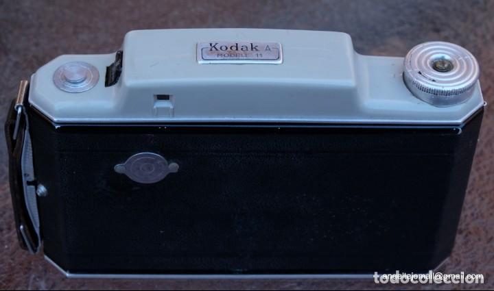 Cámara de fotos: KODAK A Modele 11. Impecable, funcionando. - Foto 5 - 142700658