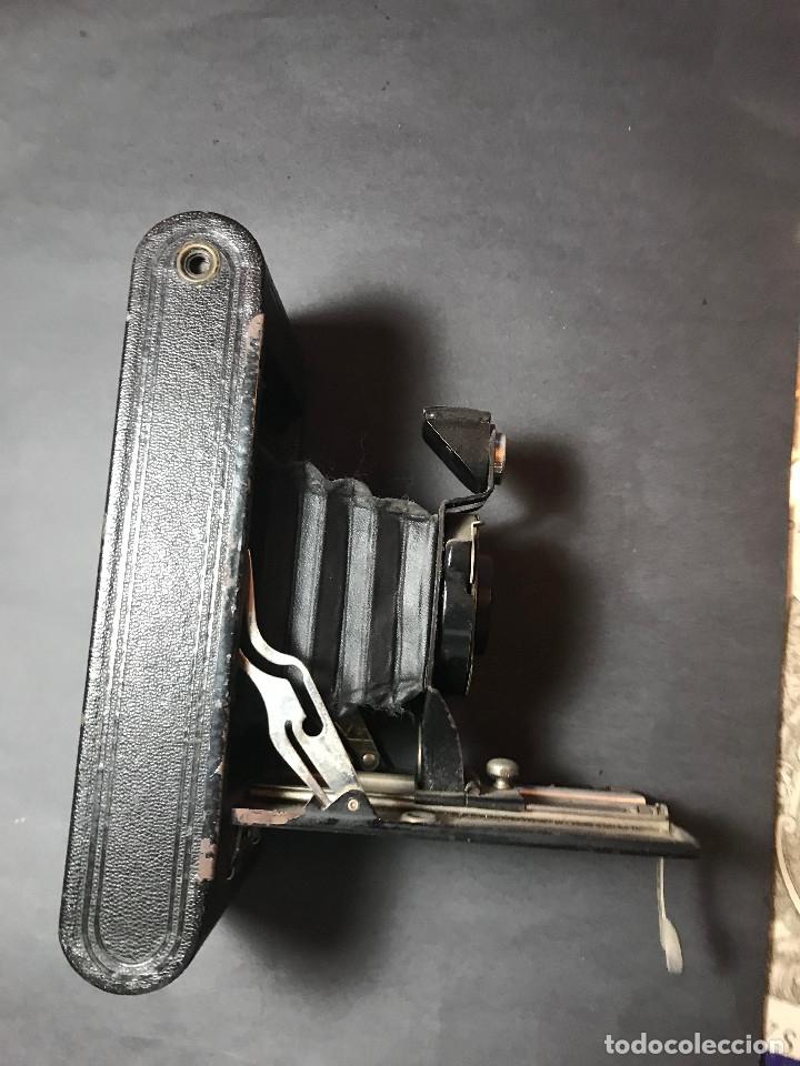 Cámara de fotos: Cámara fotográfica Kodak Kodex. Años veinte. - Foto 3 - 142808122