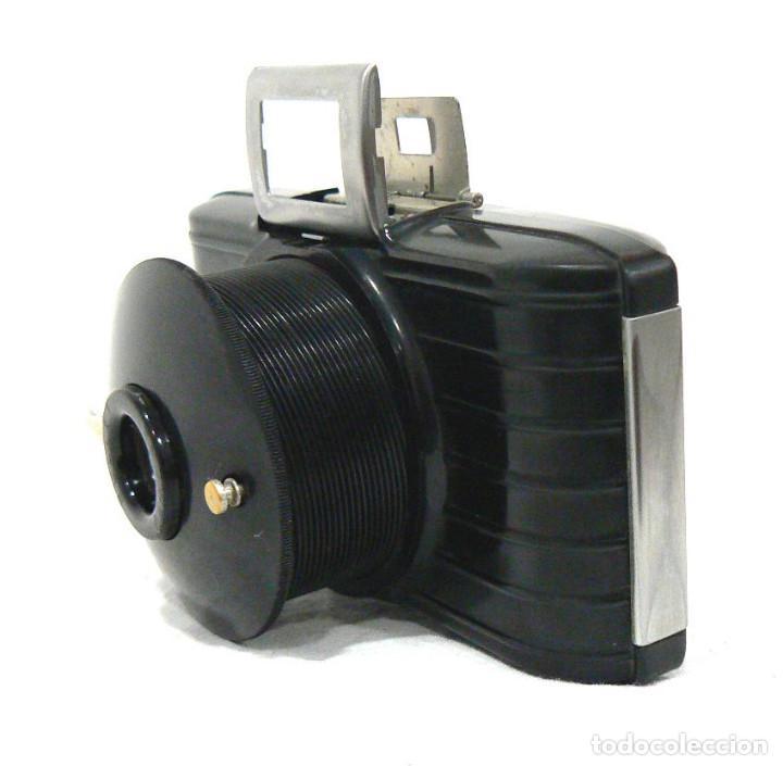 Cámara de fotos: Antigua y pequeña Cámara fotográfica Kodak Bullet .Para negativo 127 USA 1936 - Foto 4 - 142813246
