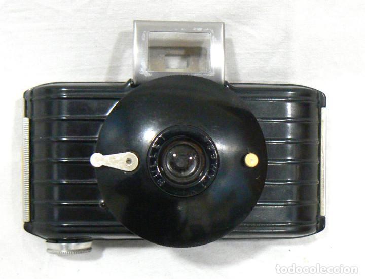 Cámara de fotos: Antigua y pequeña Cámara fotográfica Kodak Bullet .Para negativo 127 USA 1936 - Foto 5 - 142813246